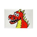 Happy Dragon Rectangle Magnet