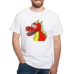 Happy Dragon White T-Shirt