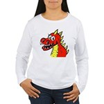 Happy Dragon Women's Long Sleeve T-Shirt
