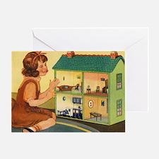 dollhouse2 Greeting Card