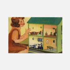 dollhouse2 Rectangle Magnet