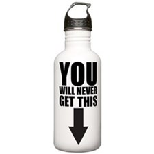 NeverGetThis Water Bottle