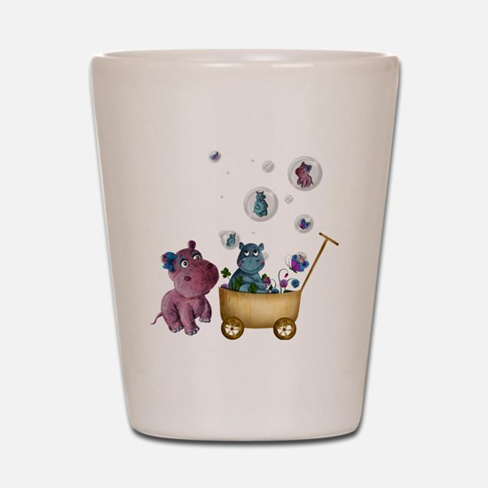 funhippos Shot Glass
