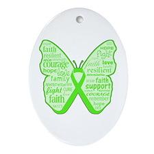 Mental Health Awareness Ornament (Oval)