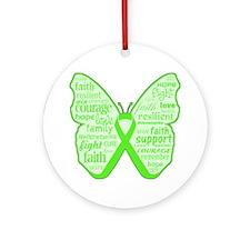 Mental Health Awareness Ornament (Round)