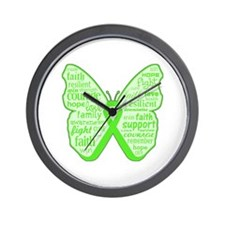 Mental Health Awareness Wall Clock
