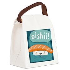 oishiiwallet Canvas Lunch Bag