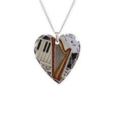 harp-nook-5432 Necklace Heart Charm