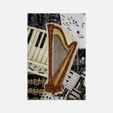 harp-nook-5432 Rectangle Magnet