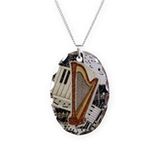 harp-nook-5432 Necklace Oval Charm