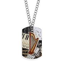 harp-nook-5432 Dog Tags
