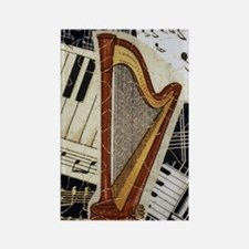 harp-iphone-5432 Rectangle Magnet