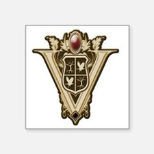 "Volturi Crest Square Sticker 3"" x 3"""