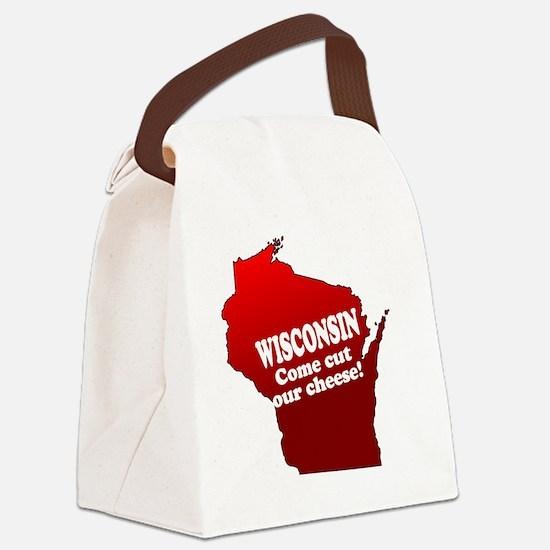 comecutourcheese Canvas Lunch Bag