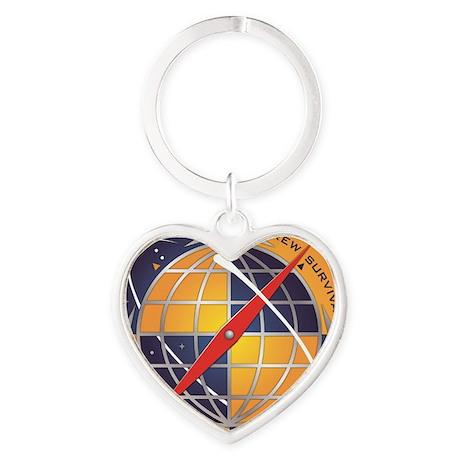 CEE NEW LOGO Heart Keychain