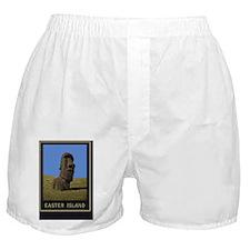 Easter Island1Postcard1 Boxer Shorts
