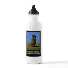 Easter Island1Postcard Sports Water Bottle