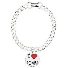 AQABA Charm Bracelet, One Charm