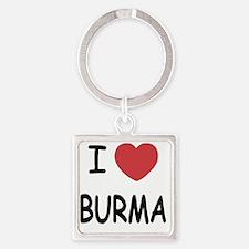 BURMA Square Keychain