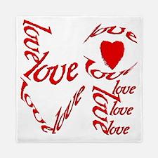 valentines day love Queen Duvet