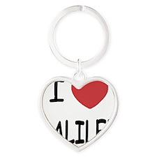 GALILEE Heart Keychain