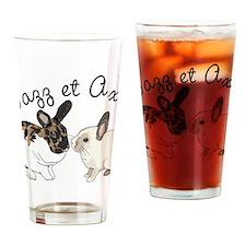 jazz axel cafepress Drinking Glass