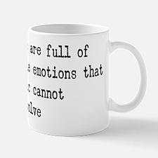 unpredictable emotions Mug