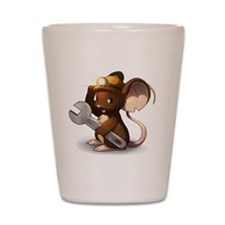 Mouse Maintenance Shot Glass