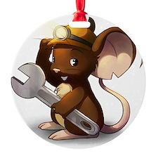 Mouse Maintenance Ornament