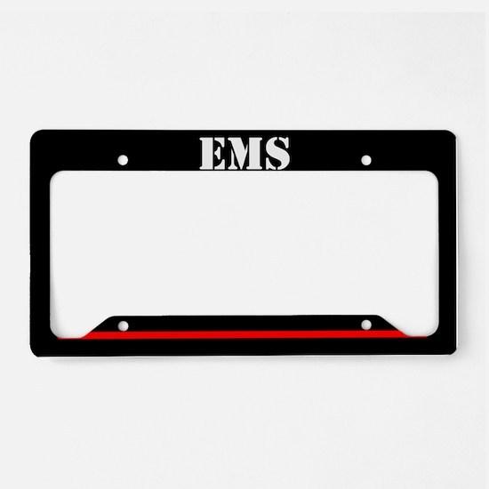 EMS Firefighter License Plate Holder