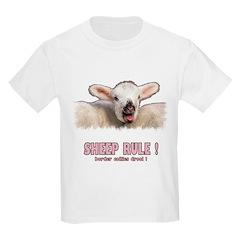 Sheep Rule Kids T-Shirt