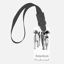 American Foxhound Luggage Tag