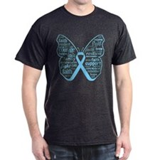 Lymphedema Awareness Butterfly T-Shirt