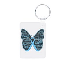 Lymphedema Awareness Butterfly Aluminum Photo Keyc