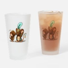 Kiss the Shaman Drinking Glass