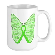 Lyme Disease Butterfly Mug