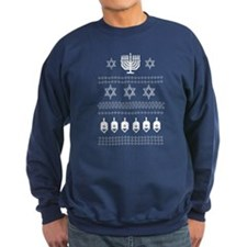 Ugly Happy Hanukkah Sweater Sweatshirt