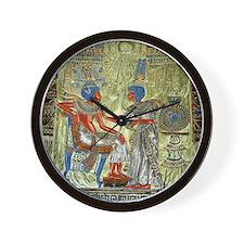 Tutankhamons Throne Wall Clock