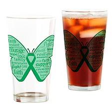 Liver Disease Awareness Drinking Glass