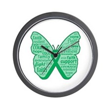 Liver Disease Awareness Wall Clock