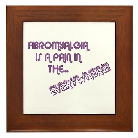 Fibromyalgia Framed Tile