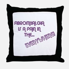 Fibromyalgia Throw Pillow