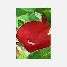 apple vert Rectangle Magnet