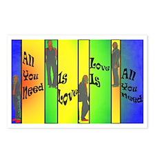 Beatles-Love Is All You N Postcards (Package of 8)