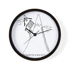 5951_real_estate_cartoon Wall Clock