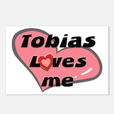 tobias loves me  Postcards (Package of 8)