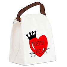 Queen of my heart Canvas Lunch Bag