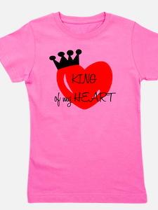 King of my heart Girl's Tee