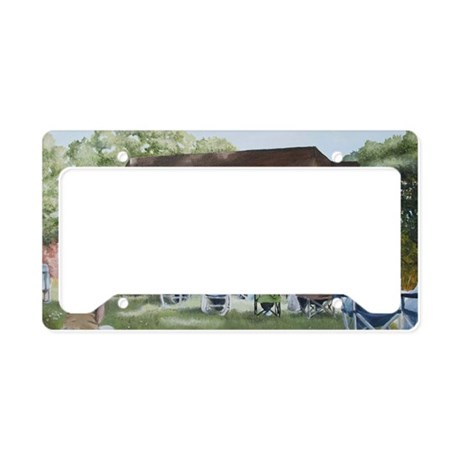 Shakesperience14x10 License Plate Holder