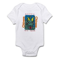 Chinese New Year Dragon Infant Bodysuit